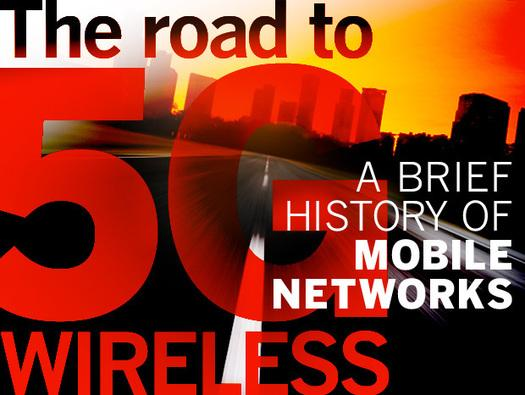 In Pictures: The road to 5G wireless