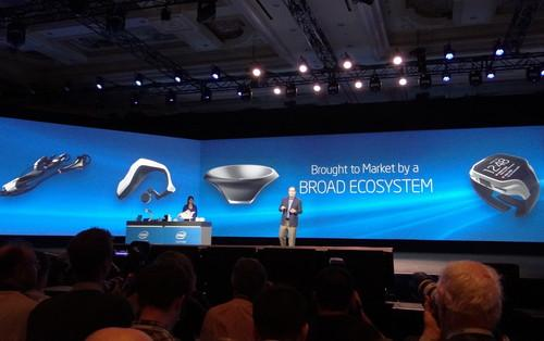 Intel chief opens CES with parade of wearables