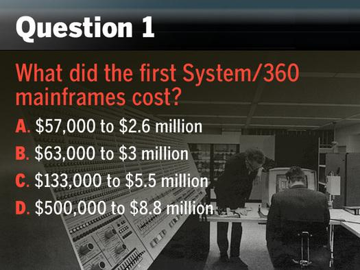 In Pictures: So you think you know the IBM mainframe? Try our quiz
