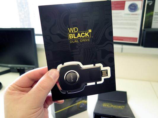 WD Black2 dual drive unboxing