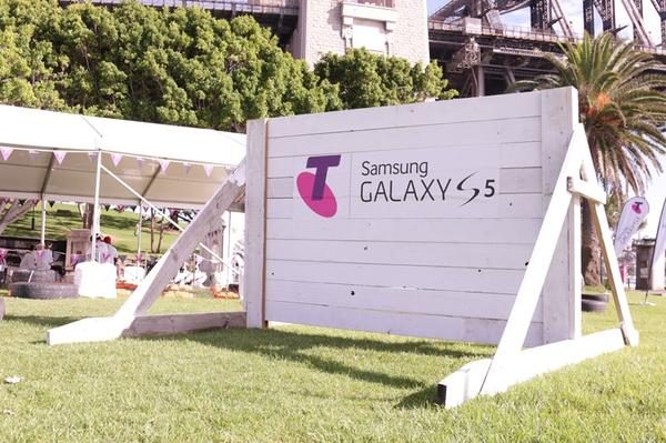 IN PICTURES: Elite athletes and Telstra get Fit with Samsung Galaxy Gear