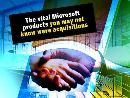 In Pictures: Microsoft products you may not know were acquisitions