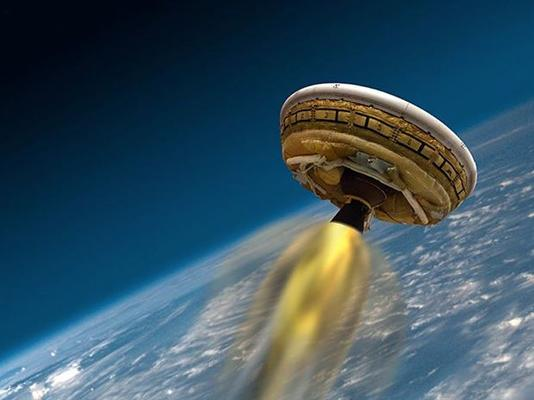 In Pictures: NASA tests supersonic Mars flying saucer