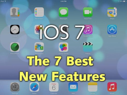 In Pictures: The 7 best new features in iOS 7