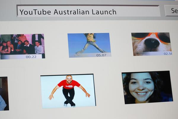 In Pictures: YouTube down under