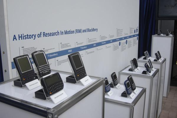 Slideshow: BlackBerry -- then and now
