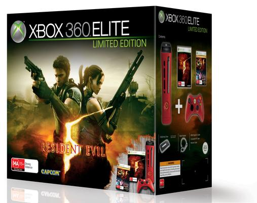 Microsoft releases blood-red Xbox 360 to coincide with Resident Evil 5