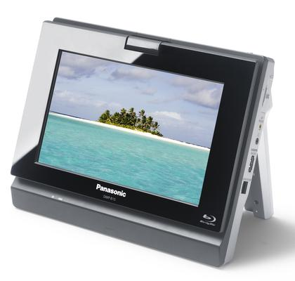 Panasonic launches world's first portable Blu-ray player