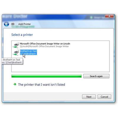 How to share a printer over a network