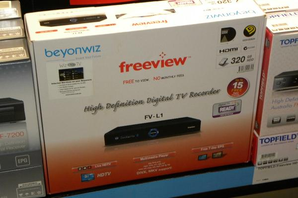 Freeview announces compatible TVs and digital video recorders