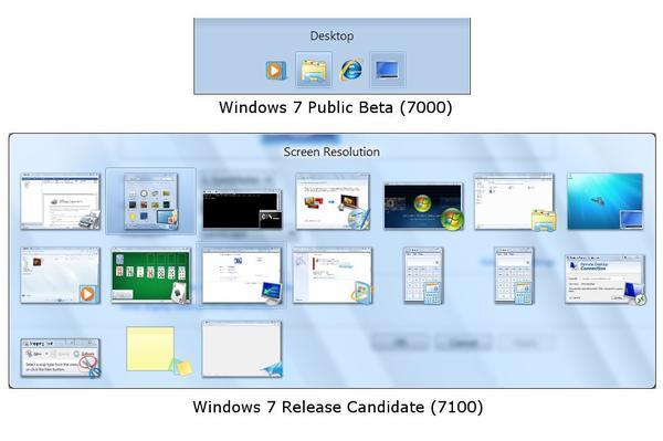 Beta vs RC: What's new in the Windows 7 Release Candidate?