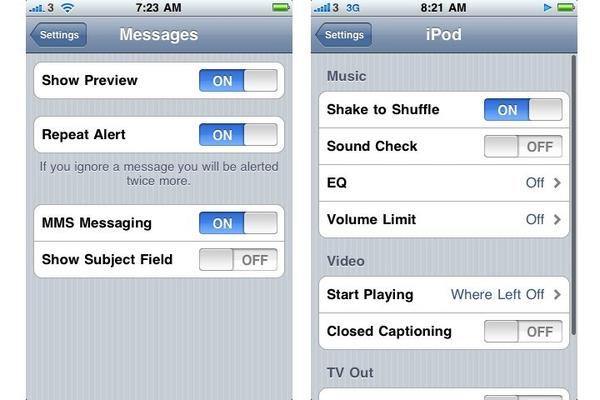 In pictures: New features in iPhone Software Update 3.0