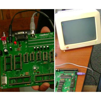 Image gallery: Building an Apple-1 replica from scratch