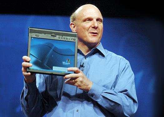 Microsoft's history with the Tablet PC