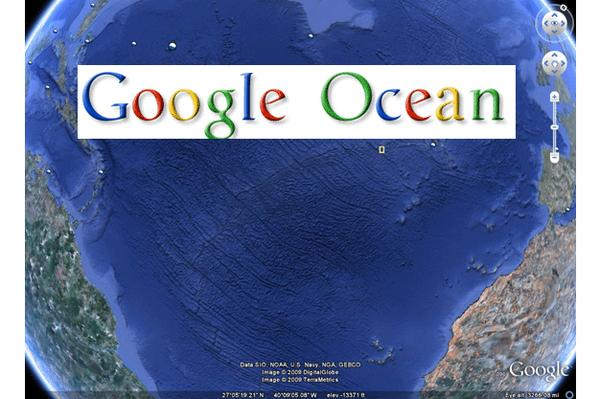 Getting your feet wet with Google Ocean: First look in images
