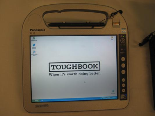 IN PICTURES: Panasonic gets Toughbook with Ben Hur