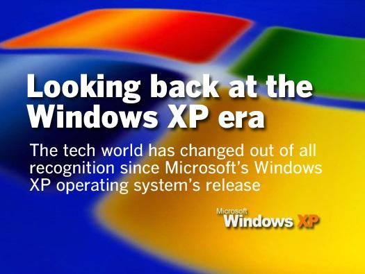 In Pictures: Looking back at the Windows XP era