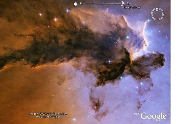 In Pictures: Most Spectacular Sights in Google Sky