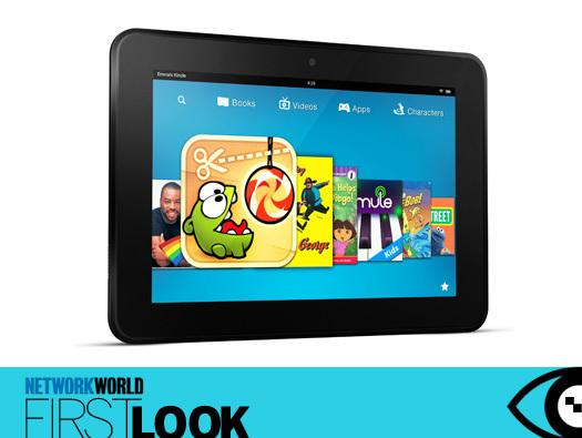 In Pictures: First look - Amazon's new Kindle tablet lineup