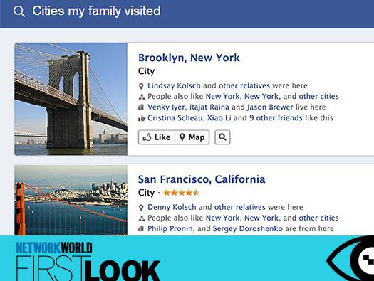 In Pictures: Facebook's new Graph Search