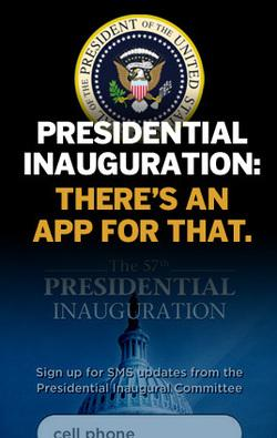 In Pictures: Presidential Inauguration - there's an app for that