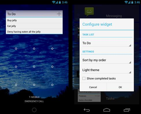 In Pictures: Android lock screen widgets, 20 excellent options