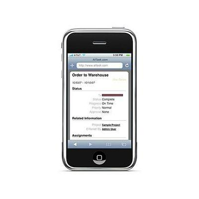 Enterprise apps for the iPhone