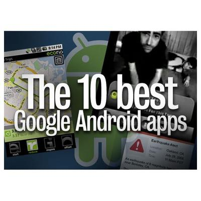 The 10 best Google Android applications