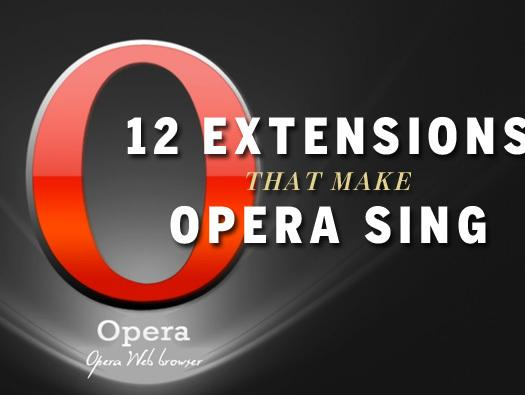 In Pictures: 12 extensions that make Opera sing
