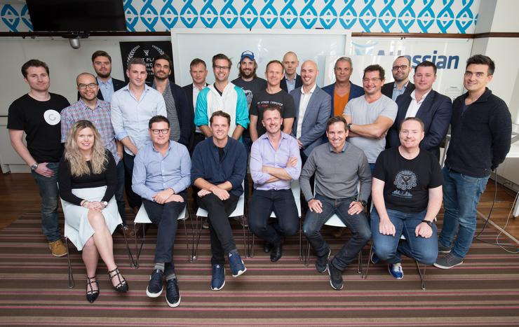 Founders and executives meet to discuss the launch of TechSydney