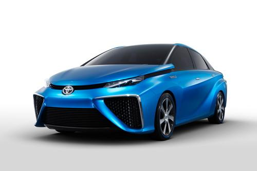 Toyota's FCV fuel cell concept vehicle