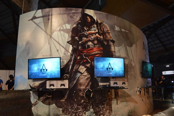 Assassin's Creed IV booth