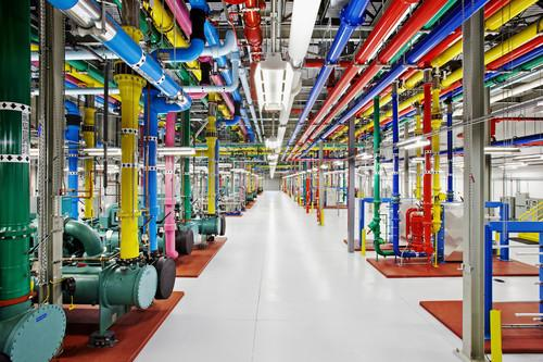 Google's data centers weren't always this pretty