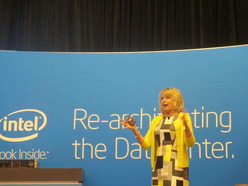 Intel's Diane Bryant at Intel Developer Forum 2013