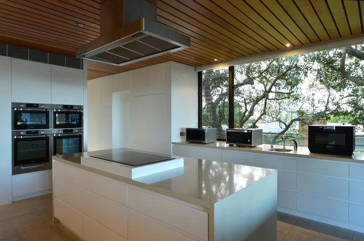 The Samsung Discovery House, a temporary installation in the Sydney suburb of Vaucluse, brimmed with the latest products Samsung has to offer Australians.