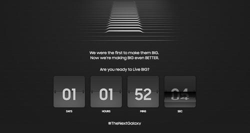Samsung Electronics is counting down to the launch of the Galaxy Note 5 and the Galaxy S6 edge+.