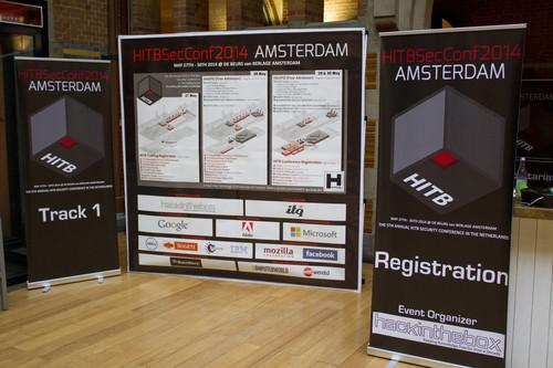 The Hack in the Box 2014 security conference takes place in Amsterdam May 29 - 30.