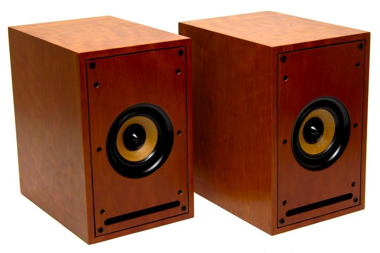 The excellent JohnBlue JB4 Mk2 speakers.