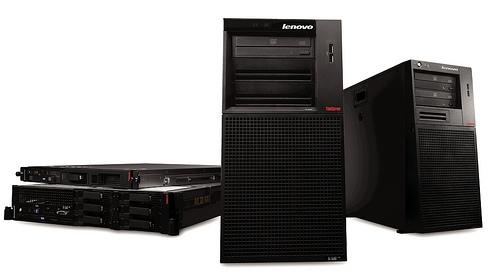 Lenovo's ThinkServer range of Intel servers
