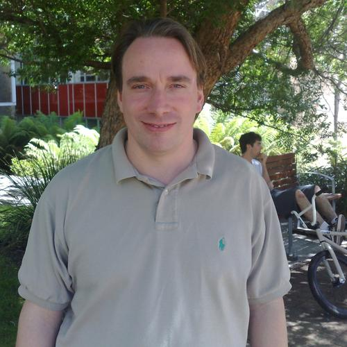Linus Torvalds at the Hobart linux.conf.au