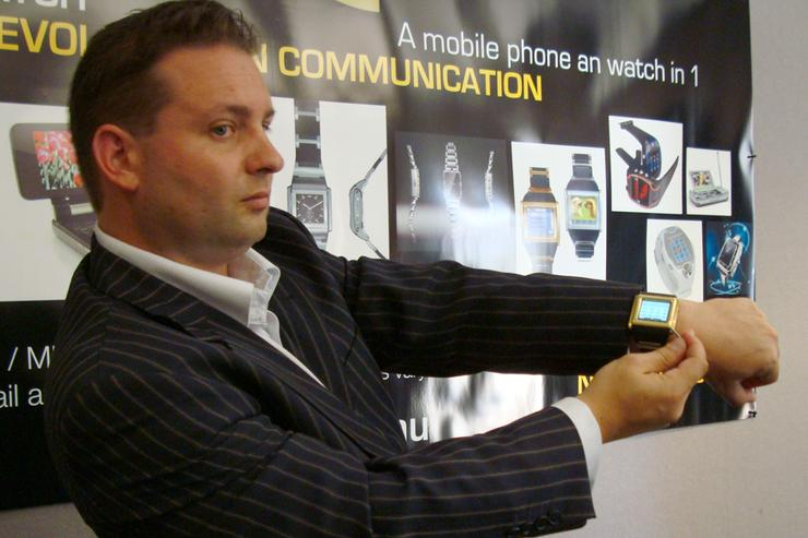 NV Phones CEO Anthony Cook.