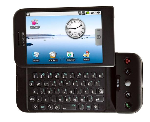 "The HTC G1, otherwise known as ""Dream"""