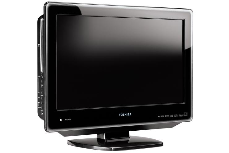 The Toshiba 19DV615Y is the company's smallest LCD television currently available.