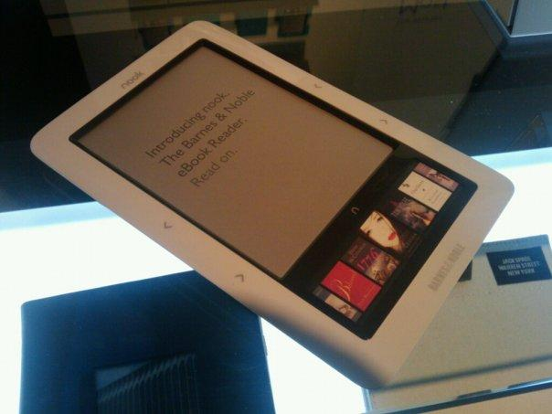 The Barnes & Noble Nook will soon be joined by the Samsung eReader