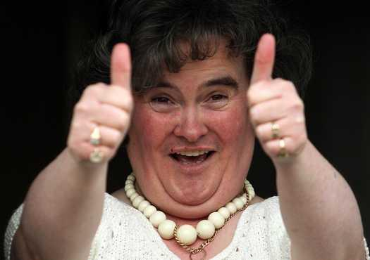 Tweets about Susan Boyle featured big in '09