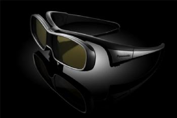 These glasses are Panasonic's active shutter 3D glasses for its 2010 televisions.