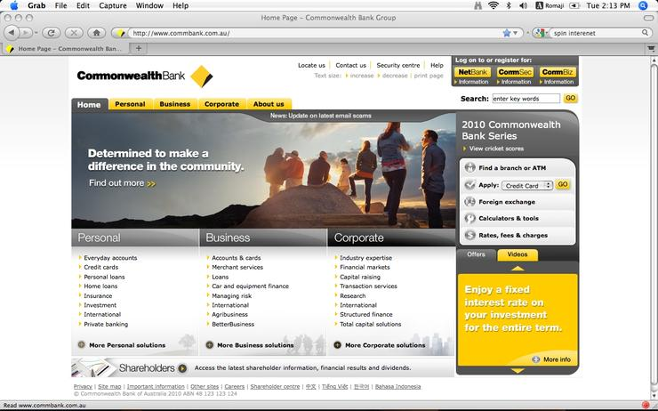 Commonwealth Bank's NetBank is now available as an app on Google Android smartphones