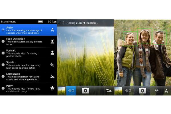 BlackBerry 6 will include new photo features.