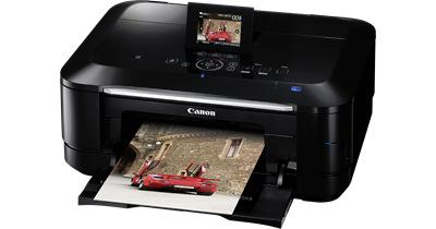 Canon's PIXMA MG8150 has a touchscreen interface, can capture still images from Full HD home movies and can scan and print directly from 35mm film slides.