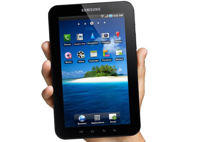 Samsung's Galaxy Tab is aiming to challenge the Apple iPad in the tablet market.